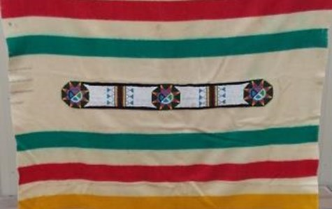 Hudson Bay Beaded Blanket