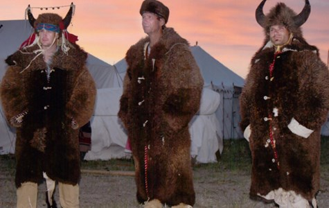 Leather Coats Made of Buffalo Robes (Buffalo Hides)