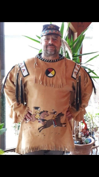 Buckskin Leather War Shirt